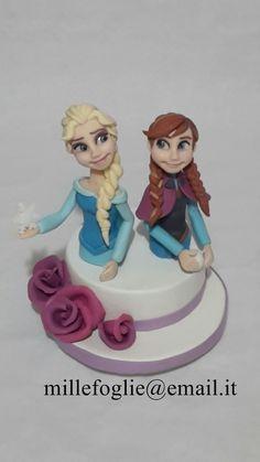 https://www.facebook.com/Millefoglie-Cake-Topper-491276517733817/  Frozen,Anna,Elsa