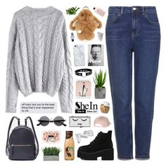 """""""SheIn"""" by novalikarida ❤ liked on Polyvore featuring Topshop, OXO, Laura Ashley, ZeroUV, Billabong, philosophy, Uncommon, COS, Pop Beauty and Sheinside"""