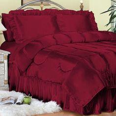 Image detail for -Charmeuse Satin Sheets Bedding Comforter Ensembles Duvets Comforters