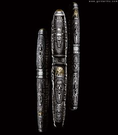 african mask pen | Caran d'Ache Tribal African Mask Limited Edition Pens - Luxury News