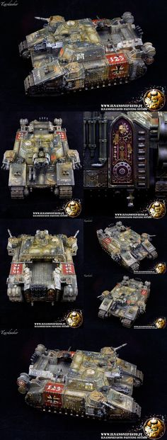 Imperial Guard StormLord Heavy Tank