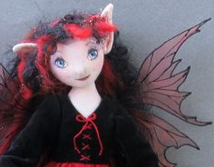 The Fairies Nest - OOAK Cloth Dolls & Fiber Fantasies: Galleries - Art Dolls