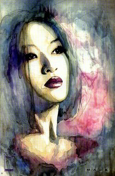 Kabuki Print, In Celeste Torresu0027s David Mack Gallery Comic Art Gallery Room    882684