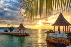 Experience Amazing Jamaican Sunsets At SeaGarden Beach Resort