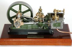 Stuart no. 9 engine was built from castings.