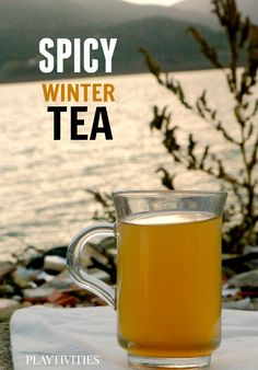 GINGER TEA RECIPE adopted for kids with secret ingredients. Perfect for to cook outside on the fire...