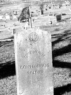 No One is Forgotten, Confederate Unknown Soldier  Cedar Hill Cemetery  Vicksburg, Mississippi