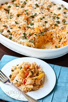 Buffalo Chicken Mac & Cheese.    OMG Yummmmm. Can't wait to make this one! (In the light version of course.)