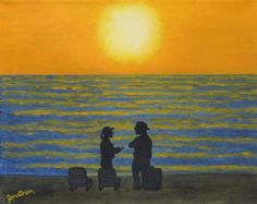 Let's Meet at Sunrise by Jonathan Morgan on Etsy