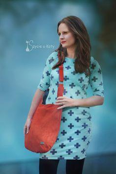 Sukienka miętowa w szare plusy rozm. 36 Bags, Fashion, Handbags, Moda, Fashion Styles, Fashion Illustrations, Bag, Totes, Hand Bags