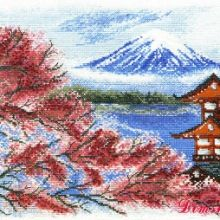 Gallery.ru / Все альбомы пользователя denise10 Cross Stitch Flowers, Cross Stitch Patterns, Cross Stitch Landscape, Mount Rainier, Mountains, Painting, Travel, Xmas, Cross Stitch