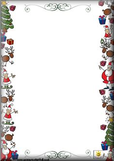 Christmas page border Christmas Boarders, Christmas Frames, Christmas Paper, Christmas Holidays, Christmas Cards, Christmas Decorations, Christmas Letters, Merry Christmas, Christmas Activities