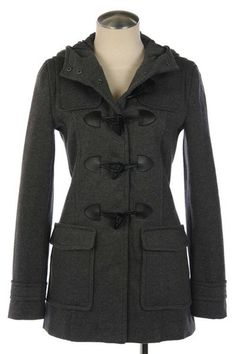 CUTE jacket and comfy.  Charcoal color, perfect for sister missionaries getting through the winters!