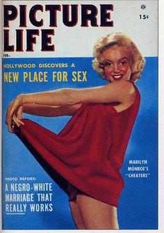 Marilyn Monroe cover ; Feb 1954