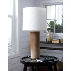 Hide Lamp | Crate and Barrel