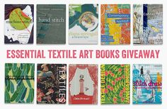 Win Sue Stone's essential books on textiles