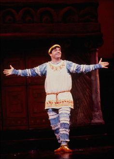 Nathan Lane in Funny Thing Happened On the Way To The Forum 1996