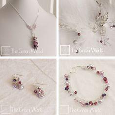 Robin's bridal jewelry set