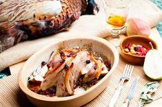 Őz, szarvas, fácán és más vadak | Mindmegette.hu Pheasant Meat, Sauce Recipes, Baking Recipes, Pheasant Recipes, Wild Game Recipes, Soup And Salad, Appetizer Recipes, Food To Make, Favorite Recipes