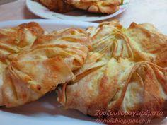 Τυρόπιτες λουλουδένιες, όχι μόνο όμορφες, αλλά και πεντανόστιμες.   Κάντε τες και θα σας ξετρελάνουν!!!   Θα καταλάβετε... Snack Recipes, Snacks, Middle Eastern Recipes, Yams, Greek Recipes, Food Processor Recipes, Cabbage, Chips, Food And Drink