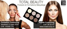 #contouring #maquillage #totalbeauty #totalbeautych Palette Contouring, Marie, Movie Posters, Eyebrows, Products, Film Poster, Popcorn Posters, Film Posters, Posters