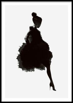 Graphic art poster, illustration of a woman& silhouette, fits into a mo . - Graphic art poster, illustration of a woman& silhouette, fits into a modern interior. Kunst Poster, Poster Wall, Poster Prints, Art Prints, Poster Collage, Poster Shop, Art And Illustration, Illustrations Posters, Watercolor Art
