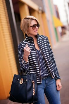love that jacket/top combo!