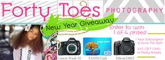 Forty Toes: NEW YEARS BASH GIVEAWAY from Forty Toes Photography!