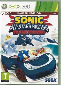 Xbox 360 SONIC all STARS Racing Transformed (Xbox One compatible)