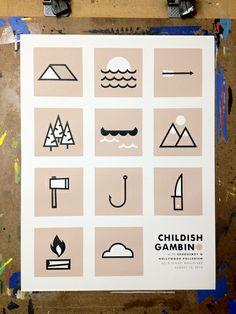 GigPosters.com - Childish Gambino - Schoolboy Q