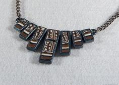 Collier métal et polymère TARIA