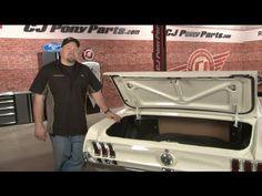 Mustang Scott Drake Remote Trunk Release Installation 1965-1970