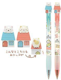 Sumikko Gurashi character pens