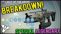 Destiny: Maxed Out Light of the Abyss Review | Great Legendary Raid Fusion Rifle!