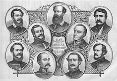 Members of the first independent Hungarian government, 1848 Hungary, Battle, Classroom, Historia, Dekoration, Class Room