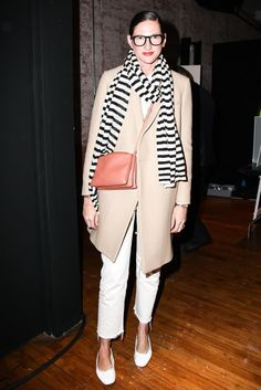 We'd never laid eyes on drop-waist khakis before uncovering this | Jenna Lyons Street Style Pictures | POPSUGAR Fashion Photo 13