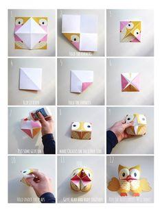 Printable Woodland Animals Cootie Catchers – Origamis for kids – Lalelilolu Studios - Tutu Umekkan Origami For Kids Animals, Kids Origami, Origami Owl, Animals For Kids, Simple Origami For Kids, Origami Flowers, Origami Easy, Origami Paper, Origami Rabbit Instructions