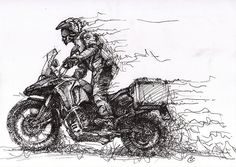F800GS_Encre_01 | BMW F800 GS Adventure in action My FB page… | Flickr