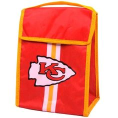 bbd46d2410228 NFL Kansas City Chiefs Velcro Lunch Bag   Check this awesome product by  going to the