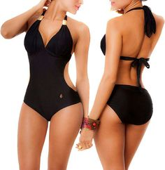 22 Trendy womens fashion for summer plus size bathing suits Tankini, Cute Bathing Suits, Plus Size Summer, Lingerie, Bustiers, Black Swimsuit, Women Swimsuits, Baby Dolls, Woman Clothing