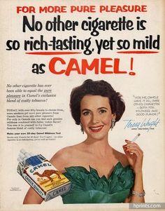 Camel 1955 Teresa Wright
