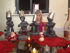 The Gnome Roses at home