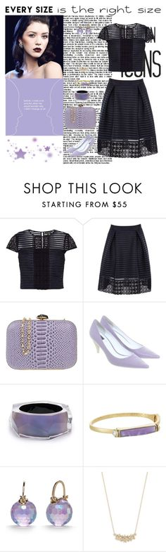 """""""Untitled #394"""" by molly4brit ❤ liked on Polyvore featuring Ted Baker, Chiara P, Calvin Klein, Alexis Bittar, Laundry by Shelli Segal and Kate Spade"""