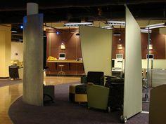 Screens, Incubator Space, Emory University