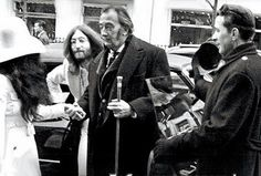 John Lennon and Salvador Dalí