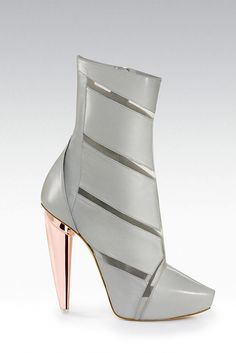 0ac27ca9aa9 It s a grey  shoeoftheday by Gio Diev Fall 2012 Shoes Heels