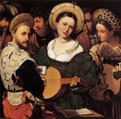 1528 Callisto Piazza Da Lodi  The Concert