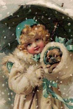 Darlings in the snow!!