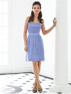 After Six Bridesmaid Dress 6650 http://www.dessy.com/dresses/bridesmaid/6650/- periwinkle