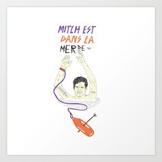 Mitch+Art+Print+by+13pulsions+-+$22.88